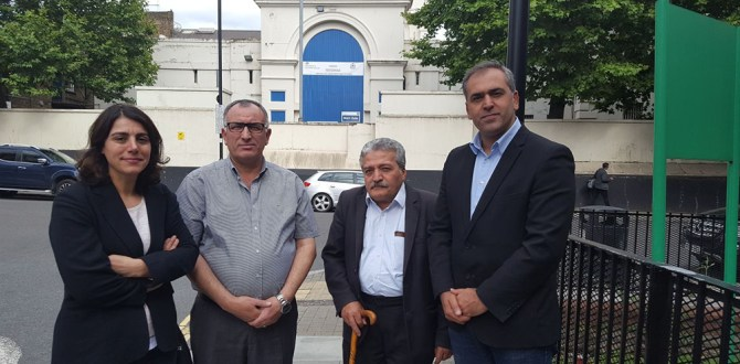Britanya Alevi Federasyonu öncülüğünde hapishanedeki Alevi tutuklulara ziyaret-VİDEO
