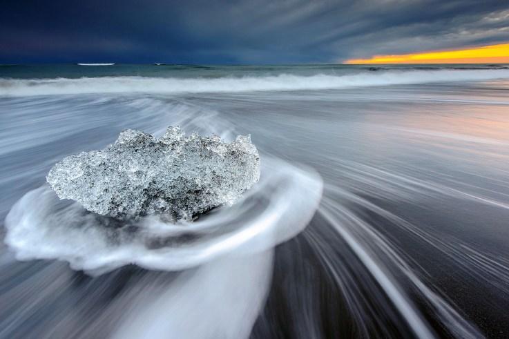 Jökulsárlón Iceberg Beach