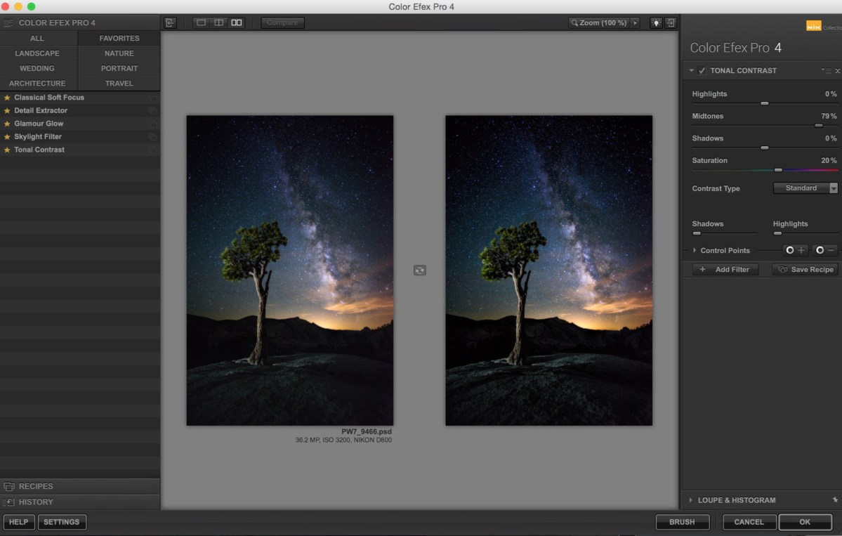 Photoshop Trick สำหรับทางช้างเผือก