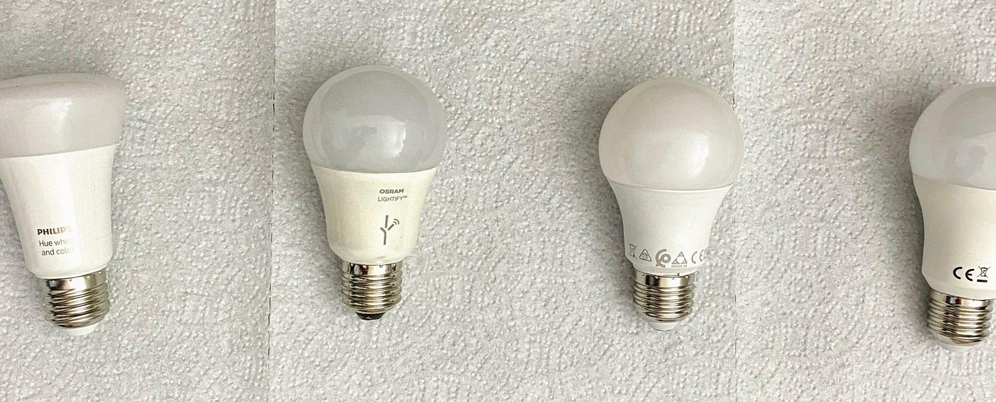 Lamppuja rivissä