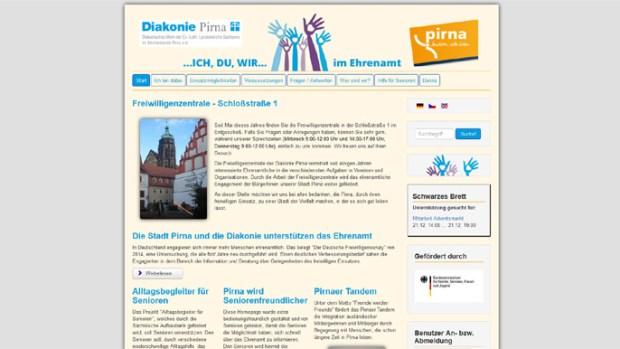 Oberbürgermeister Klaus-Peter Hanke und Diakonie-Geschäftsführer Thomas Emmrich schalteten am 28. November gemeinsam die neue Pirnaer […]