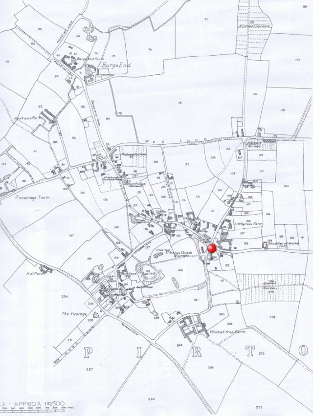 1881 Ordnance Survey map