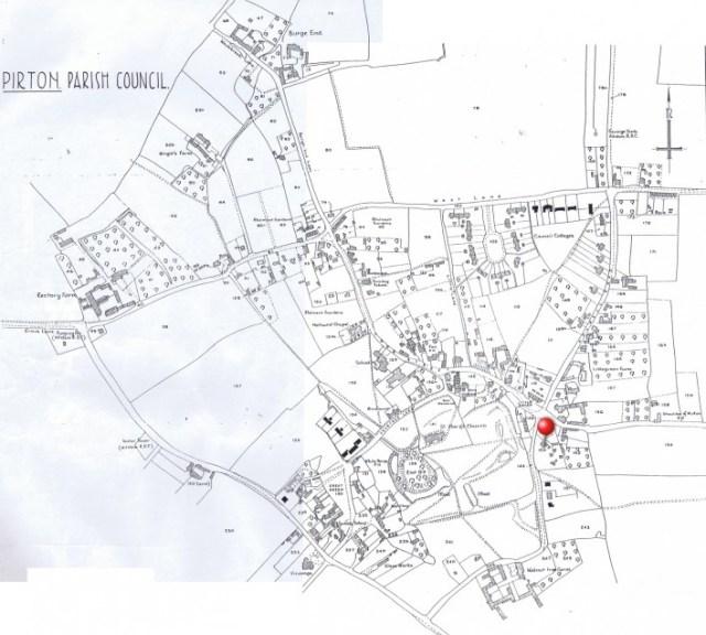 1934 Ordnance Survey map