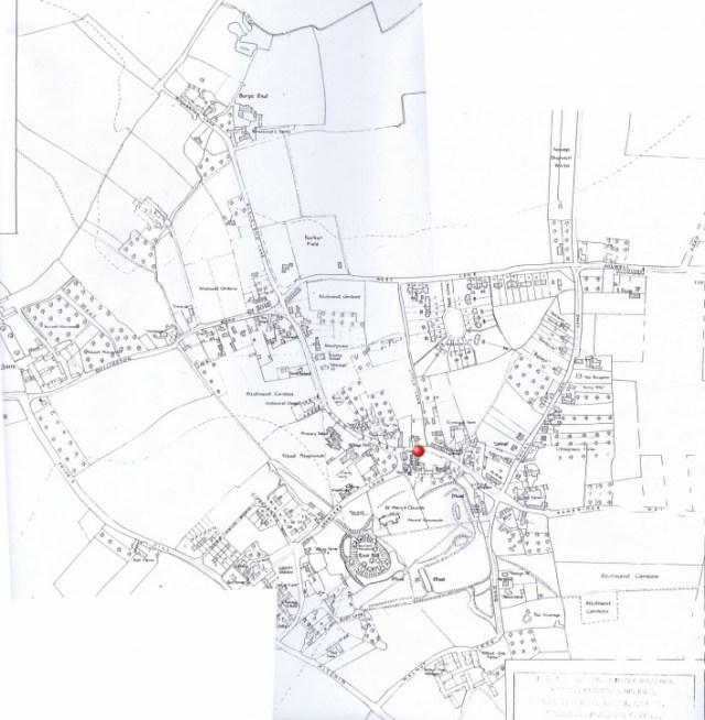 1950  Parish Council map