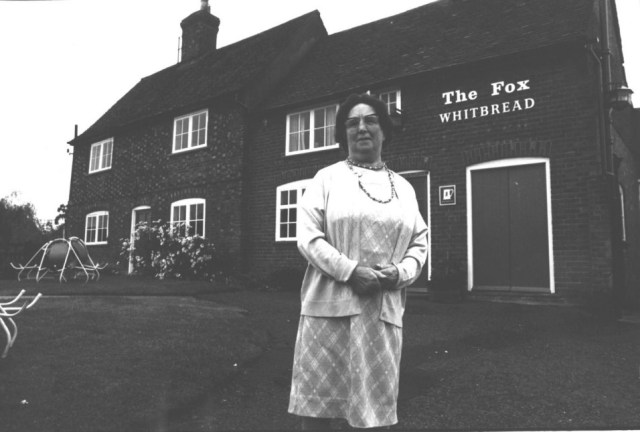 May outside the Fox in 1975