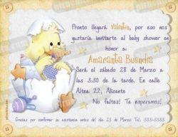 Invitación Baby Shower #01-0