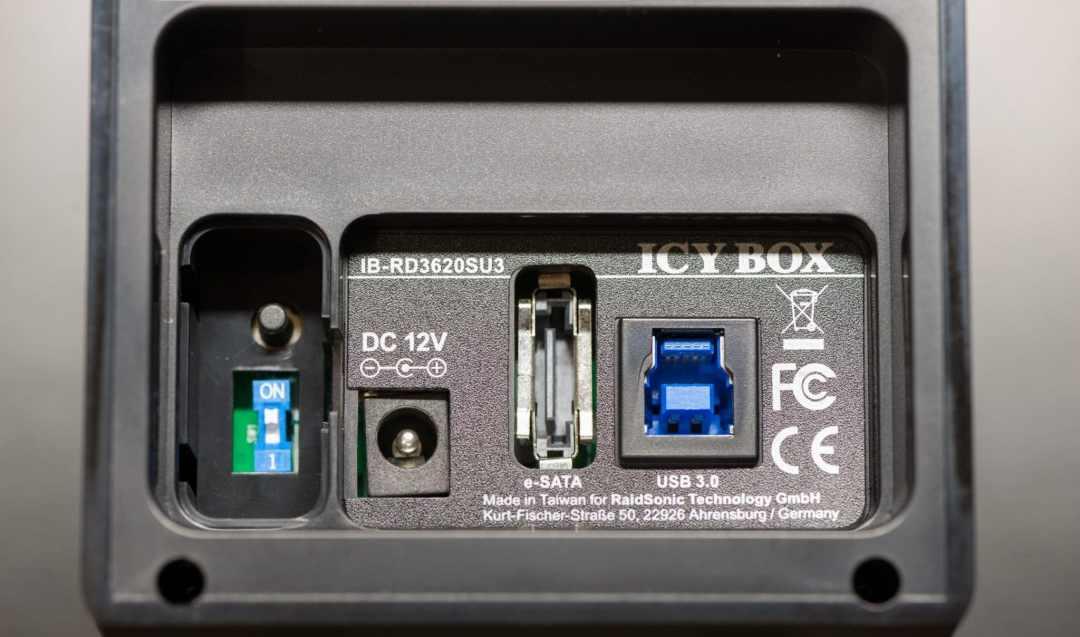 Icy Box RD3620SU3