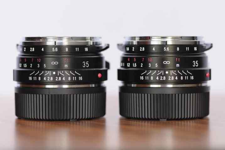Voigtlander 35mm f/1,4 Nokton Classic