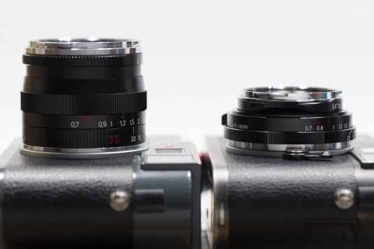 Voigtlander 35mm f2.5 Color Skopar II VM
