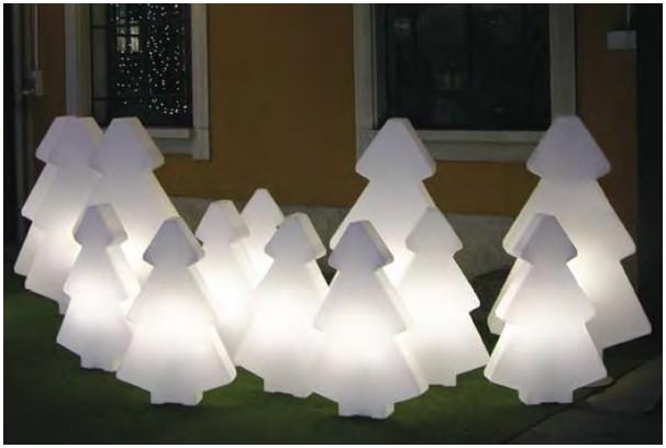 Objets Lumineux Pour Le Jardin Grand Tra Neau Du Père Noël D L