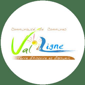 Logo - Communauté de Communes du Val de Ligne