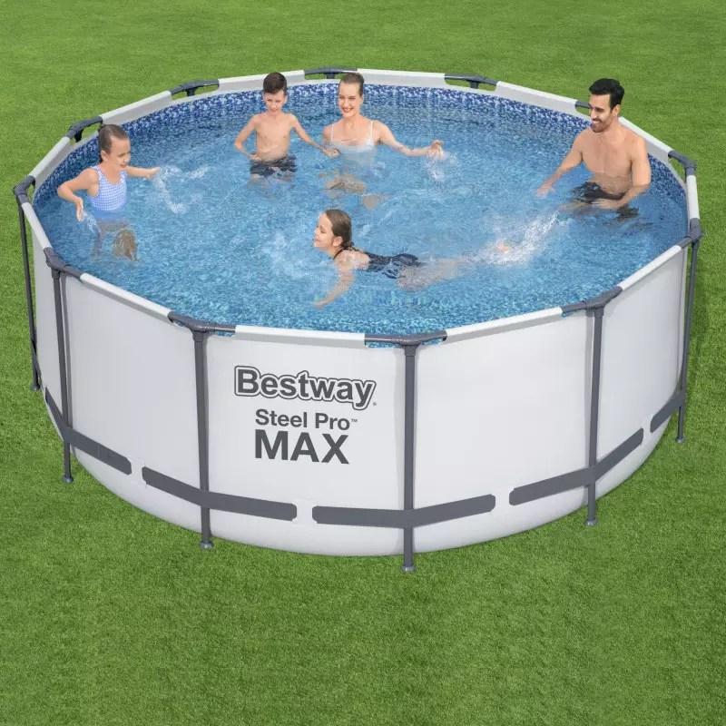 piscine tubulaire bestway 3 66m x 1 22m filtre cartouche