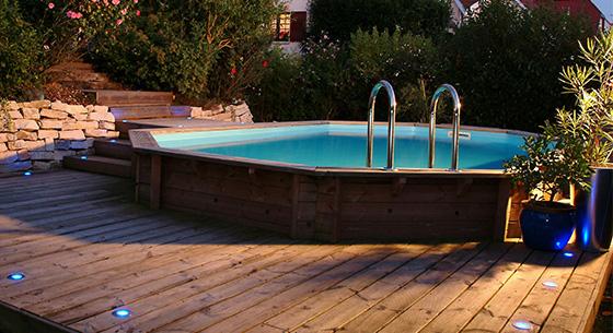piscine bois ubbink waterclip sunbay