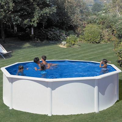 piscine hors sol ronde acier gre fidji o 2 50m a o5 50m fond 1 20m