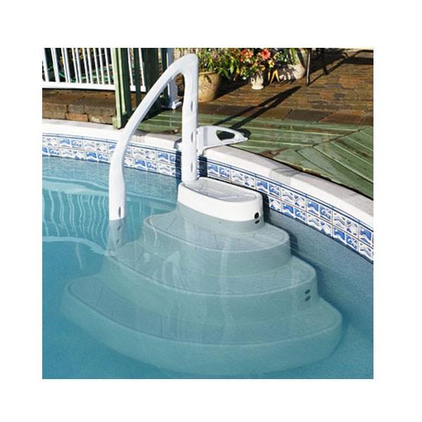 escalier piscine majestic equipement