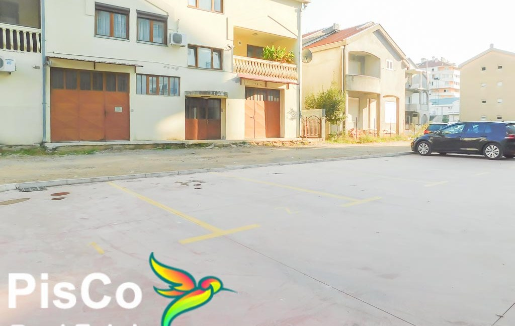 Izdaje se nov jednosoban stan na Starom Aerodromu   Podgorica