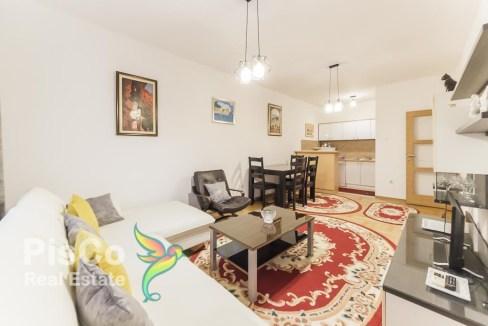 Izdaje se FULL opremljen jednosoban stan u zgradi kod Krivog mosta 50m2 | Podgorica