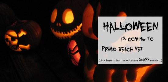 Halloween is coming to Pismo Beach Vet