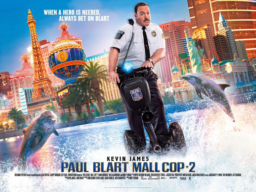 New International Poster For Paul Blart Mall Cop 2 Dolphins Las