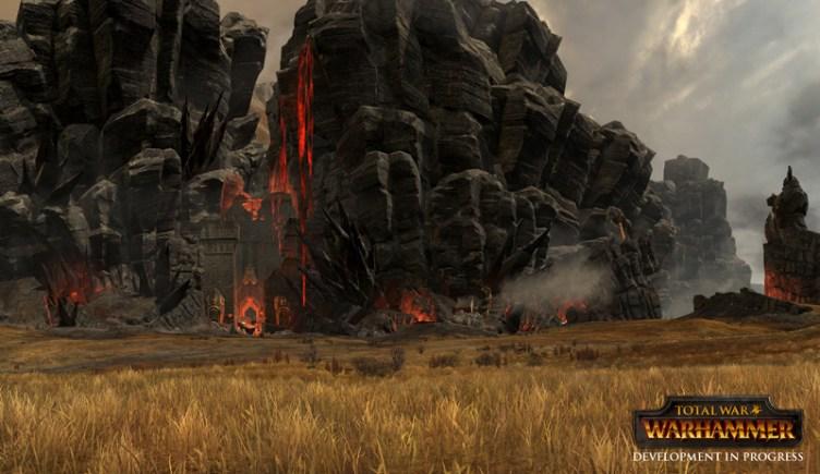 first total war warhammer gameplay footage battles its way online