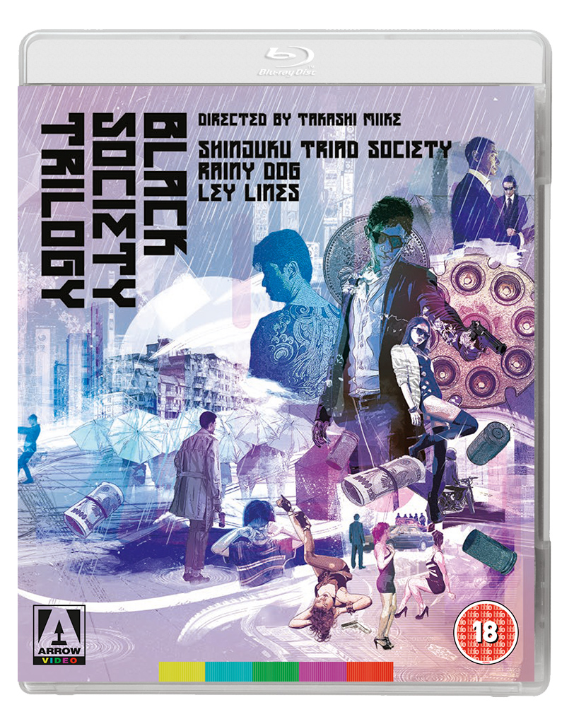 'Takashi Miike's Black Society Trilogy' Review (Arrow Video)