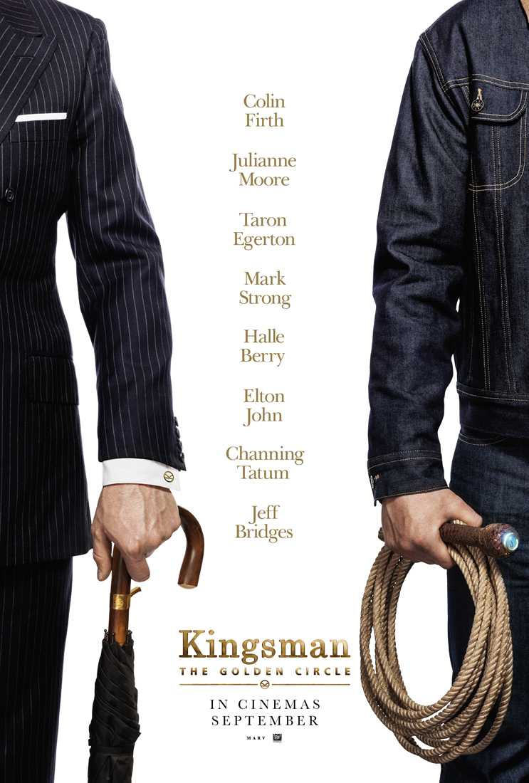 Teaser Poster for Kingsman: The Golden Circle is Here