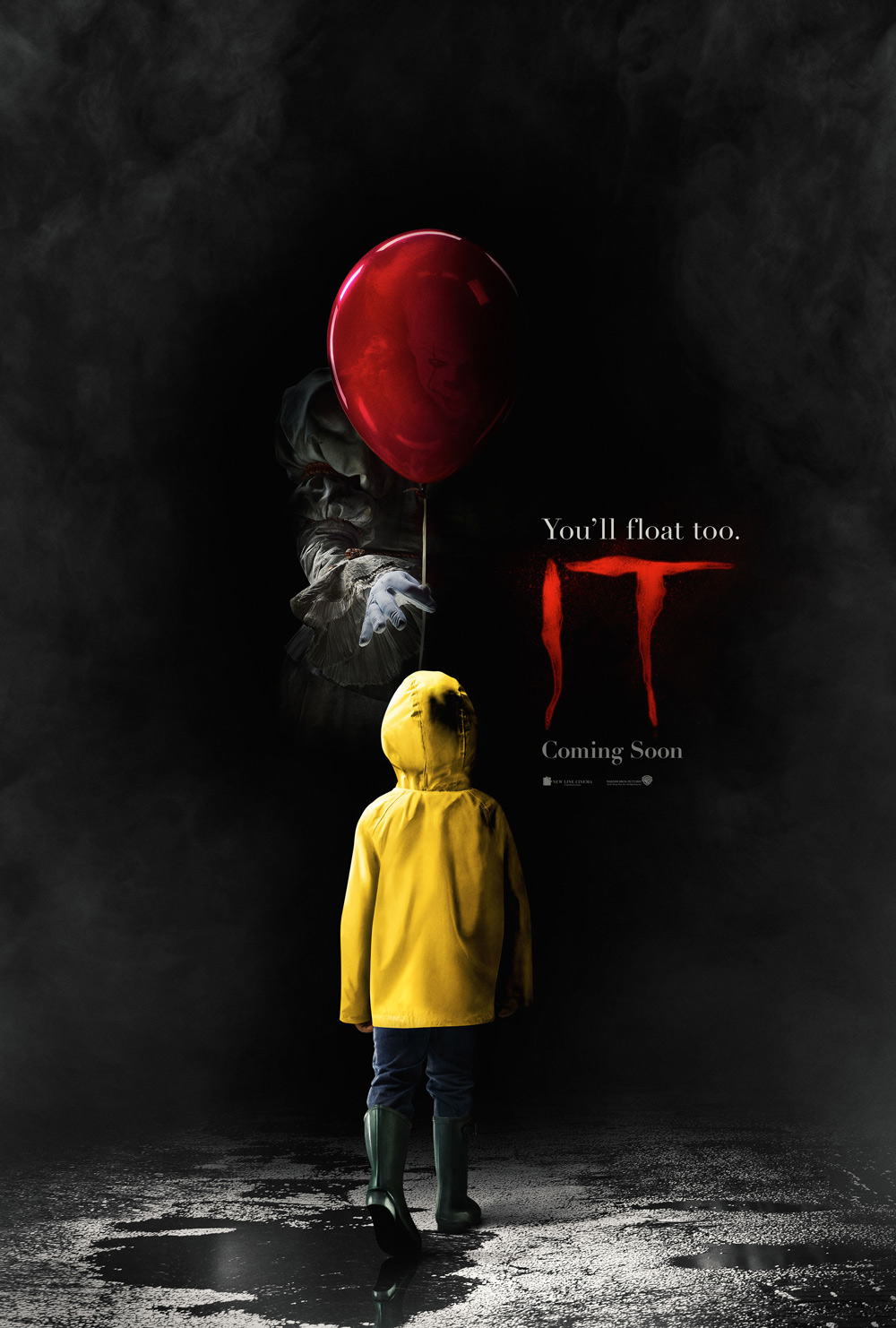 New IT Poster Floats onto the Web Ahead of Tomorrow's Trailer