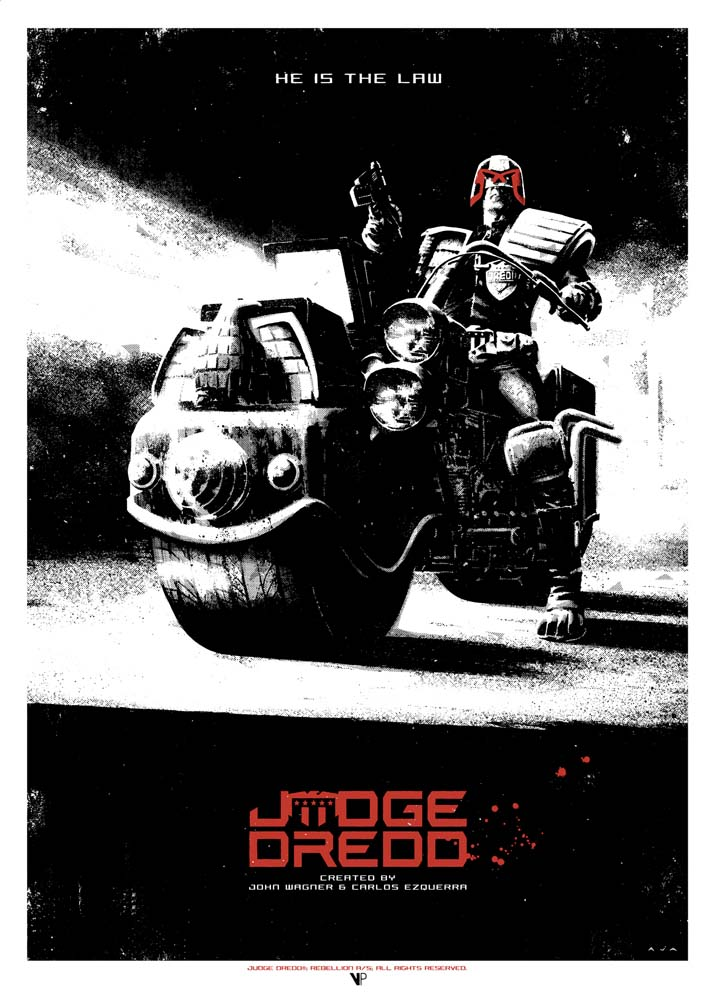 Vice Press Presents: Zarjaz!  An Art Tribute to 40 Years of 2000 AD