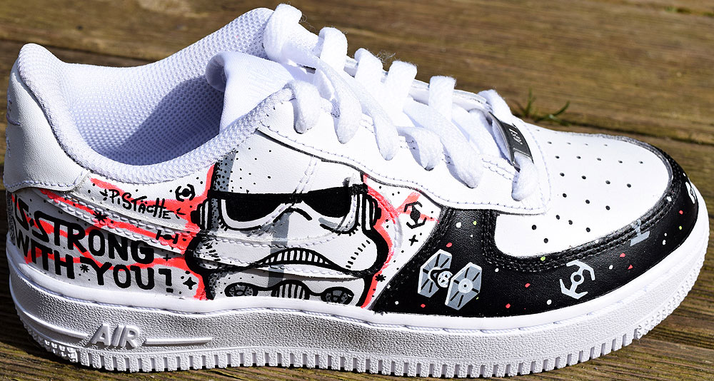 Nike Custom Shoe Painting | Painting For Home