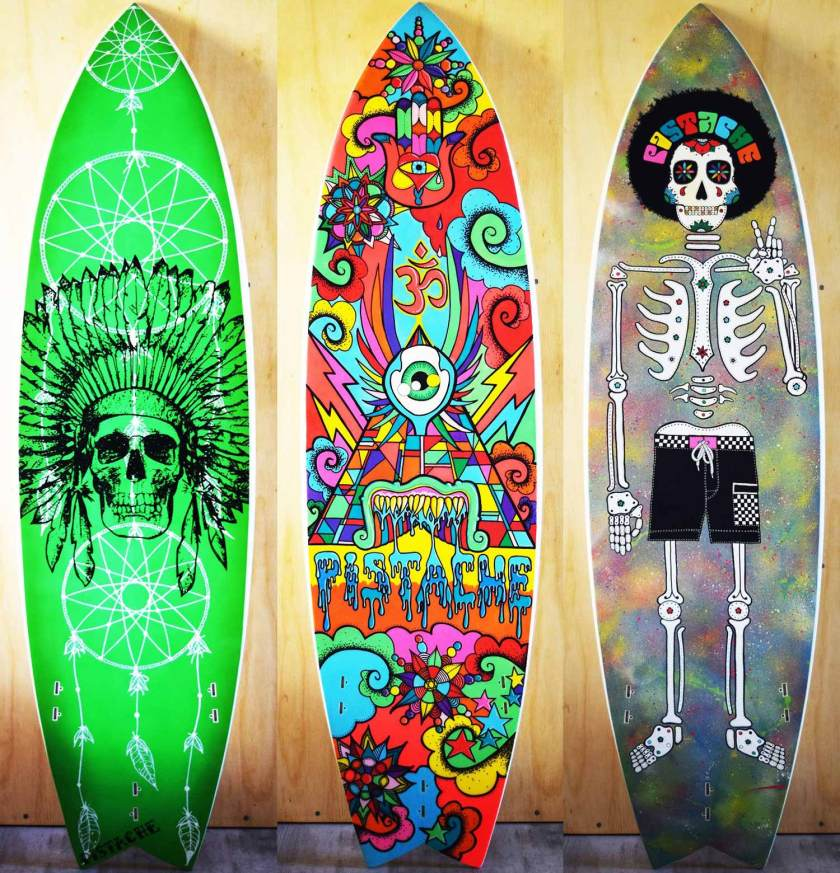 Win Surf Art by Pistache Artists
