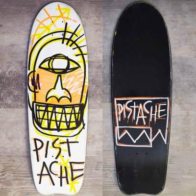 Skateboard Skate Art