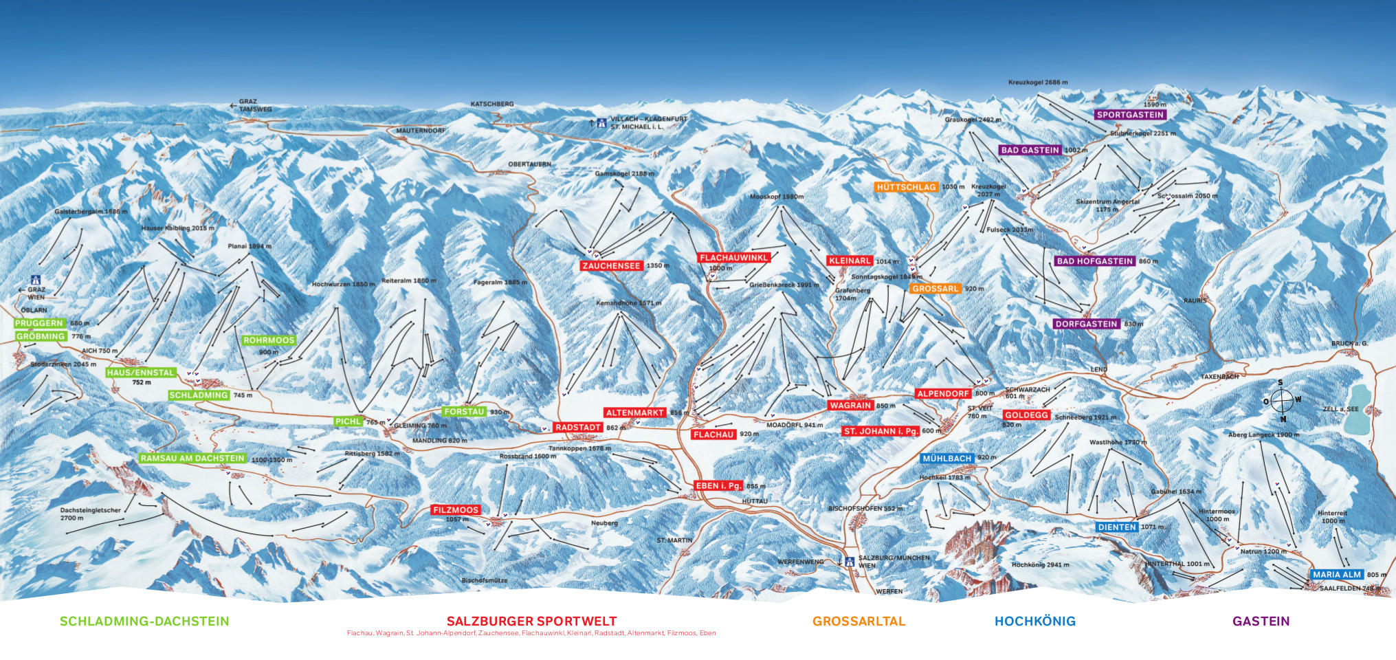 Ski Amade Piste Map Free Downloadable Piste Maps