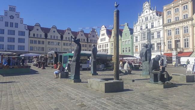 Neuer Markt Piste Rostock