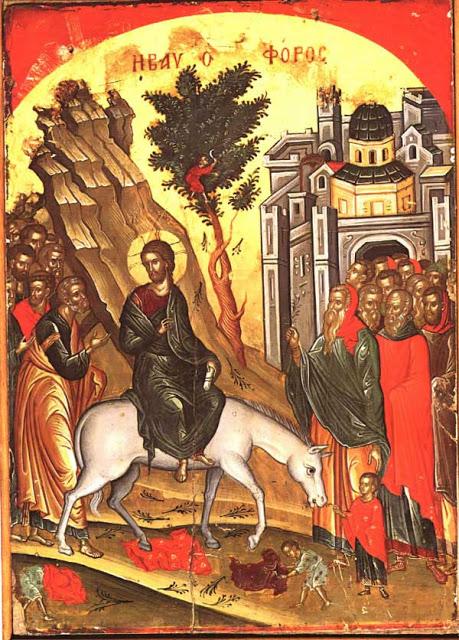 Ingresso del Signore a Gerusalemme