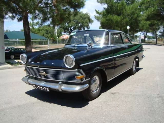 1961 Opel Rekord Coupe