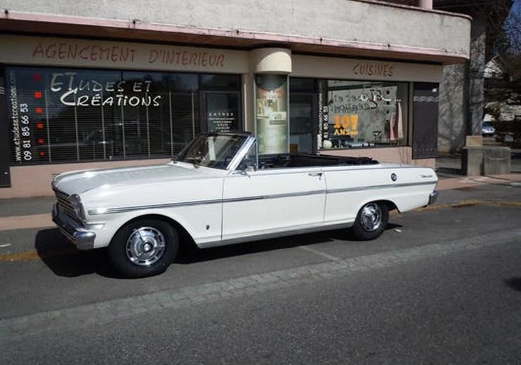 1963 Chevrolet Nova SS Convertible