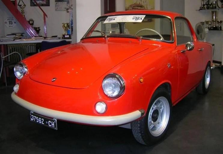 1961 Moretti 500D Coupe
