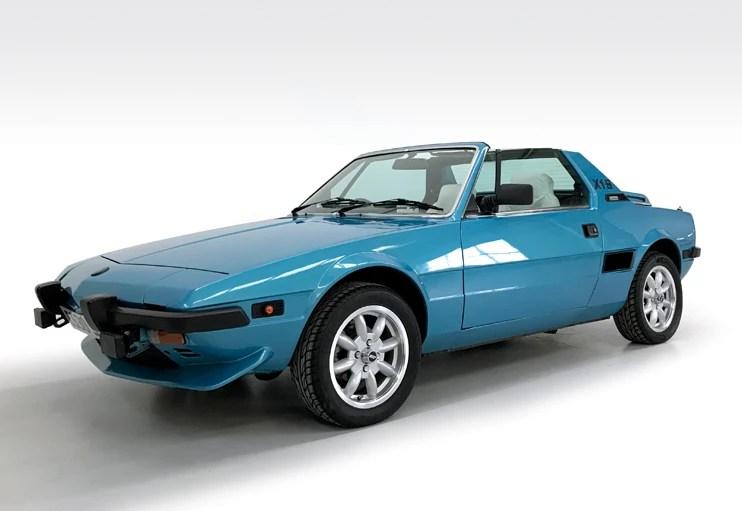 1985 Fiat X1/9 VS