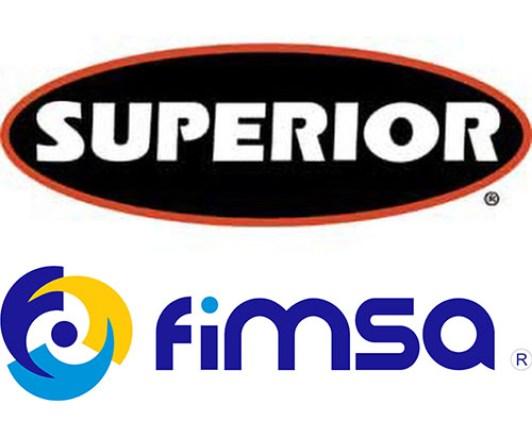 Logos: Superior Industries y FIMSA