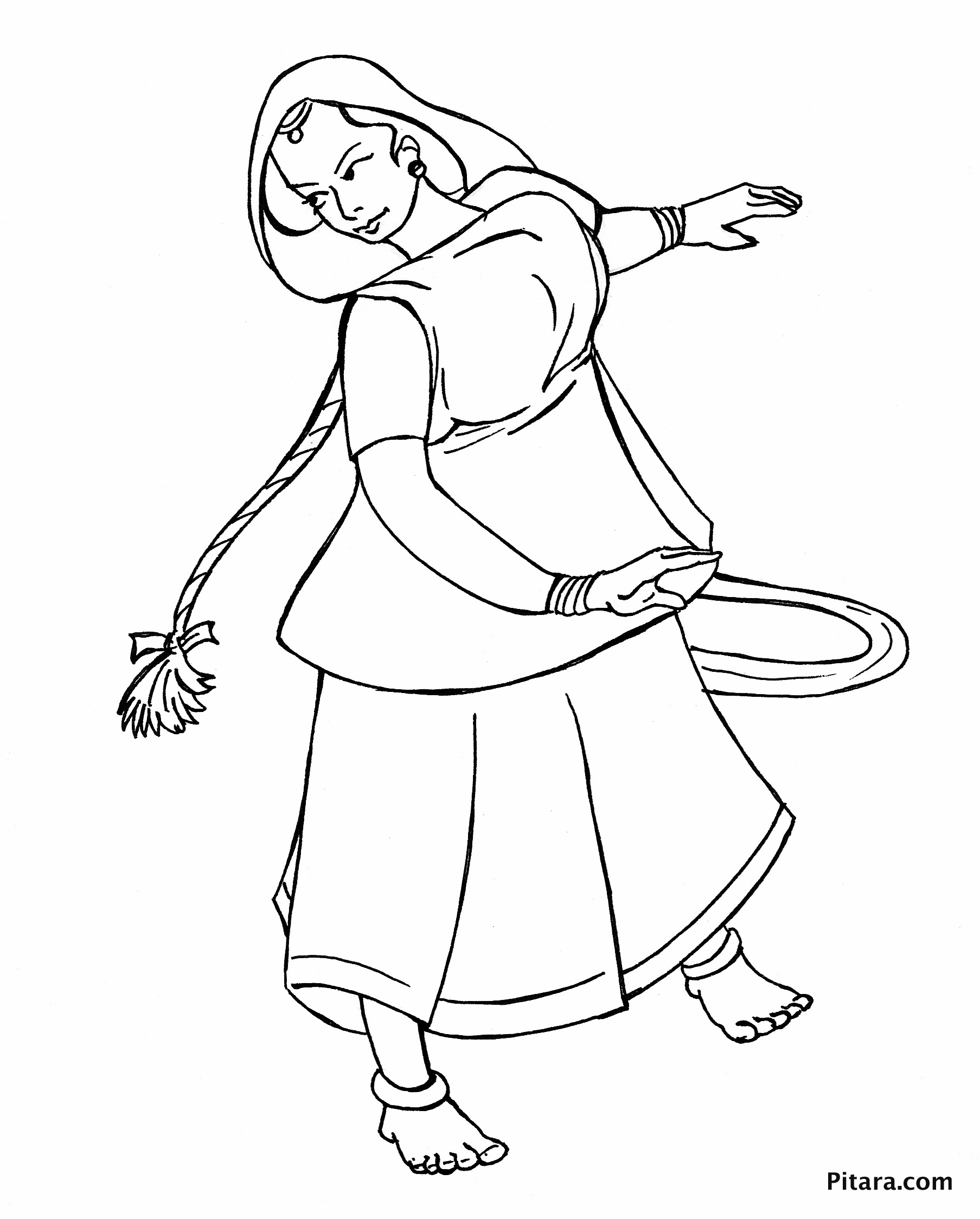 Dancing Styles Coloring Pages
