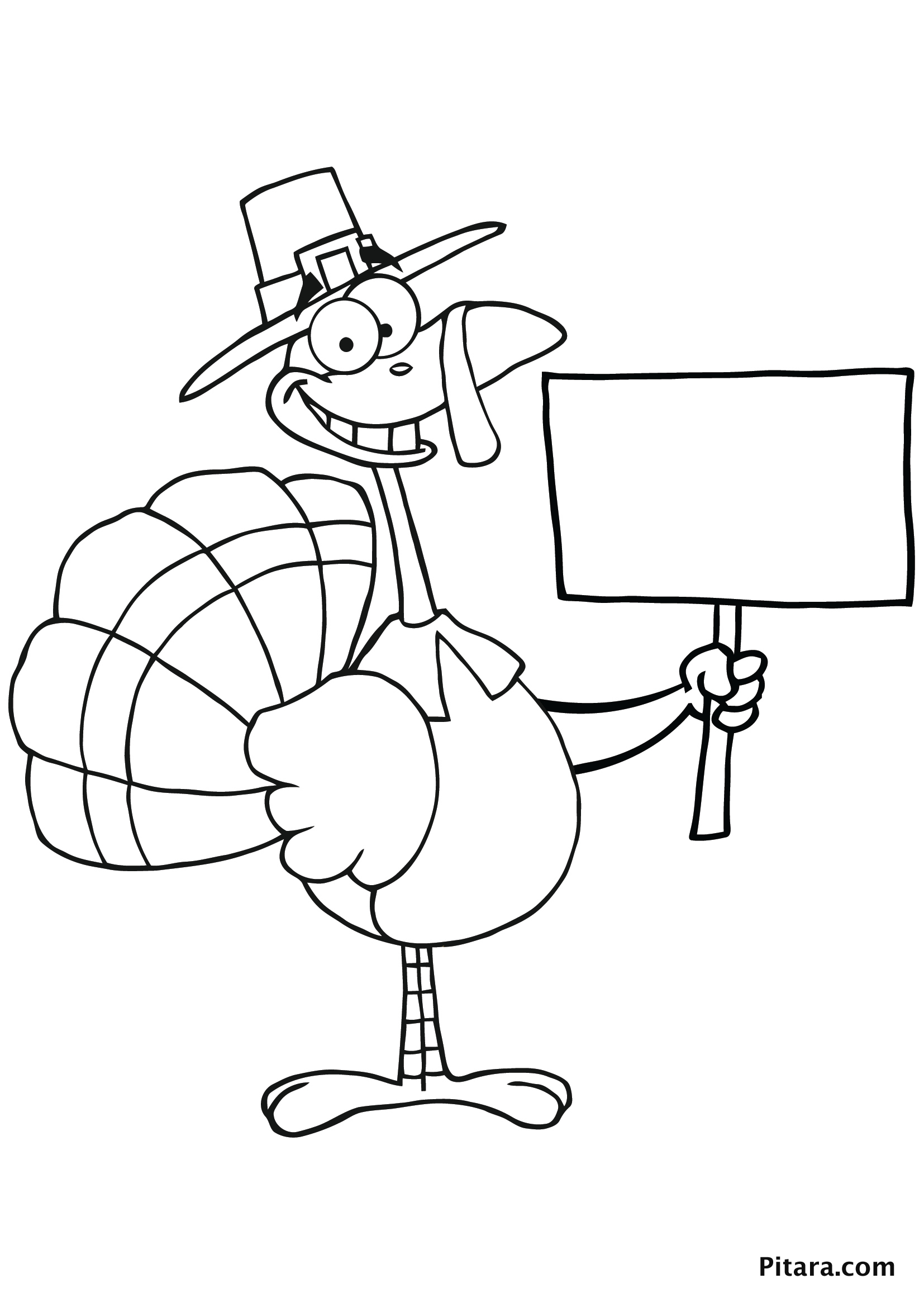 Turkeys Coloring Pages