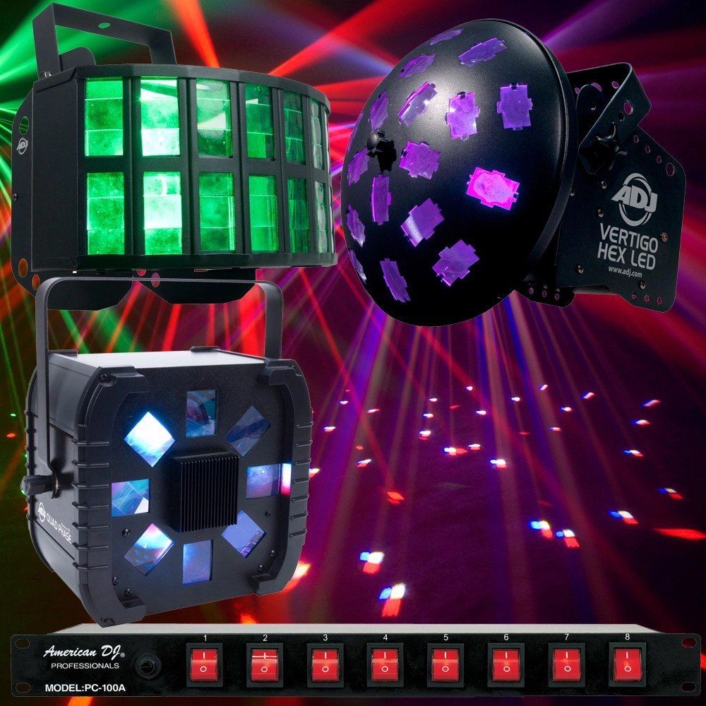 american dj black friday led effect lighting package