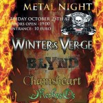ONE HELLUVA METAL NIGHT