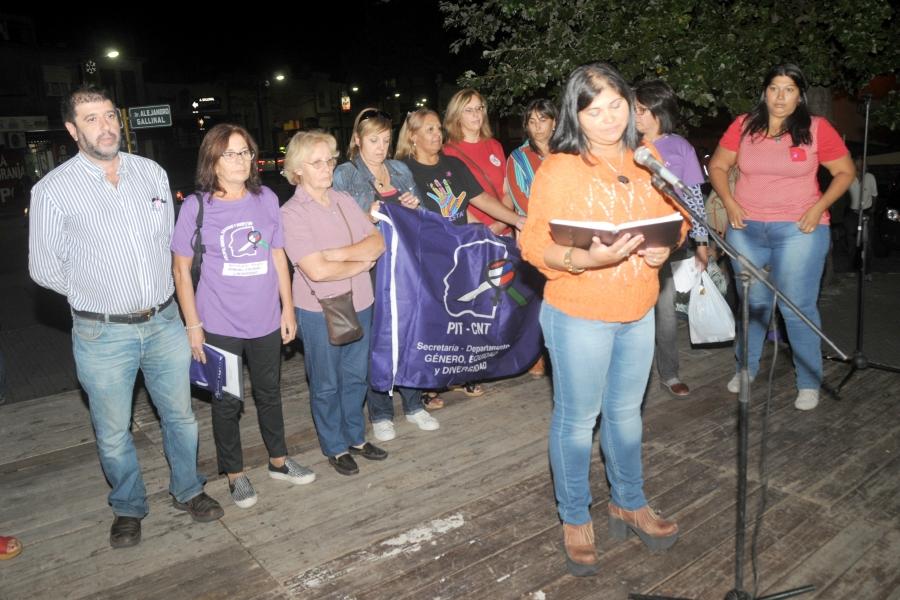 En el marco de la conmemoración del Día Internacional de la Mujer el PIT-CNT anunció: ¡¡¡Vamos por más!!!