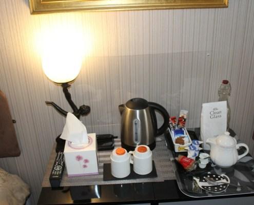 Complimentary Tea and Coffee in Pitfaranne