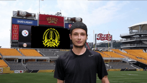 Ryan Frankert  Player card for Pittsburgh Flag Football Association.