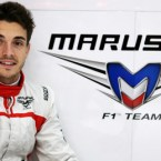 jules bianchi signs for Marussia