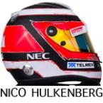 Nico Hulkenberg helmet