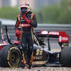 Maldonado must up crashing game in Austria