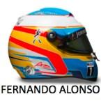Fernando Alonso Mclaren Honda Helmet 2015